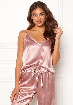 BUBBLEROOM Stephanie pyjama singlet Dusty pink Bubbleroom.se