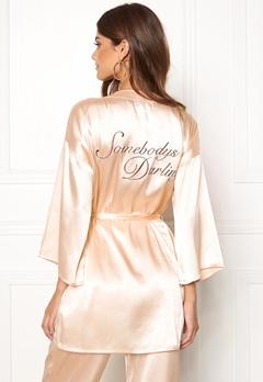 BUBBLEROOM Stephanie robe Champagne Bubbleroom.se