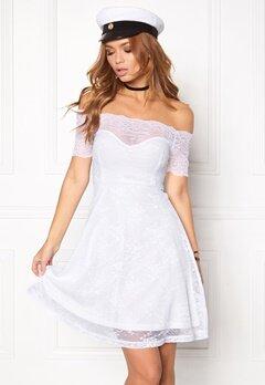 BUBBLEROOM Superior lace dress White Bubbleroom.se