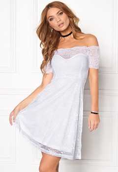BUBBLEROOM Superior lace dress White Bubbleroom.se