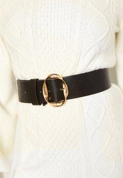 BUBBLEROOM Talia belt Black / Gold Bubbleroom.se