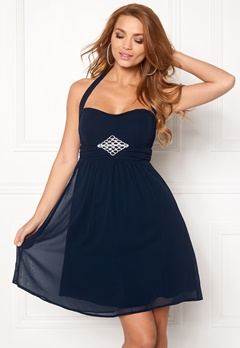 BUBBLEROOM Tiara glam  Dress Dark blue Bubbleroom.eu