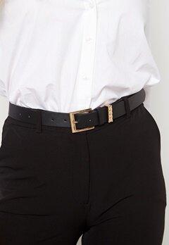 BUBBLEROOM Weslie chain belt Black / Gold Bubbleroom.se
