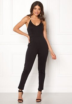 BUBBLEROOM Zaria jumpsuit Black Bubbleroom.no