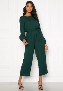 BUBBLEROOM Valorie jumpsuit Dark green Bubbleroom.se
