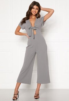 BUBBLEROOM Fabienne jumpsuit Dusty blue Bubbleroom.se