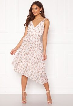 BUBBLEROOM Velma dress White / Floral Bubbleroom.se