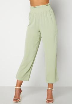 BUBBLEROOM Matilde trousers Dusty green Bubbleroom.se