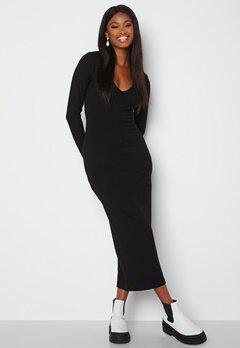 BUBBLEROOM Majda long sleeve dress Black Bubbleroom.se