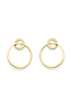 BY JOLIMA Megan Earring Gold Bubbleroom.se