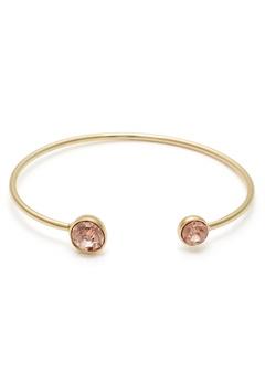 BY JOLIMA Moon Crystal Bracelet Champagne/Gold Bubbleroom.se