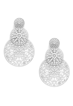 BY JOLIMA Spinn Triple Earring Silver Bubbleroom.se
