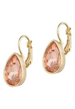 BY JOLIMA Tear Drop Earring Champagne Gold Bubbleroom.se
