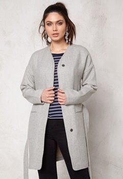 b.young Breze Jacket Light grey melange Bubbleroom.se