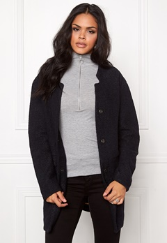 b.young Brittany New Jacket Anthracite grey mel Bubbleroom.no
