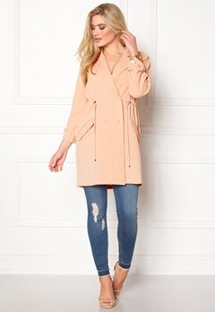 b.young Garva Trench Coat Pearl Blush Bubbleroom.se