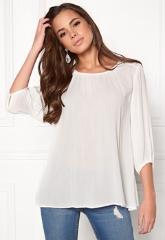 b.young Gelio Blouse Off White Bubbleroom.se