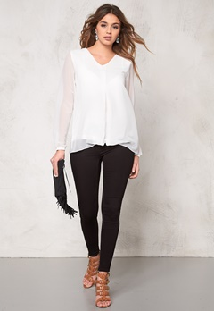 b.young Hadina blouse Off White Bubbleroom.se