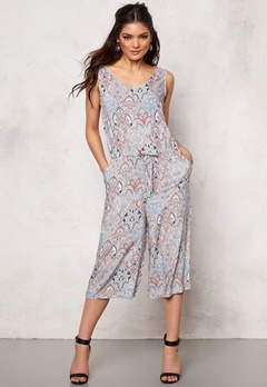 b.young Hattie Jumpsuit Chambray Blue Bubbleroom.se