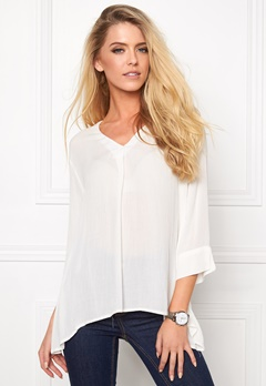 b.young Idalaya Blouse Off White Bubbleroom.se
