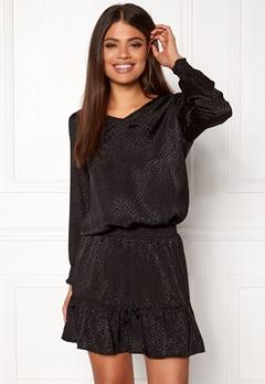 b.young Issa Dress Black Bubbleroom.fi