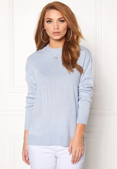 b.young Malea Pullover 80412 Chambray Blue Bubbleroom.fi