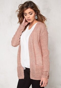 b.young Manus cardigan Warm rose Bubbleroom.se