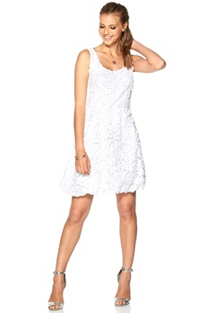 b.young Munir Dress 100 White Bubbleroom.no
