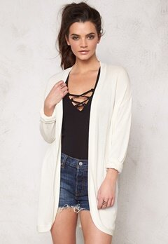b.young Olise Cardigan 80115 Off White Bubbleroom.se