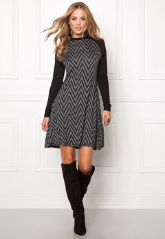b.young Rissa Dress Black Bubbleroom.se