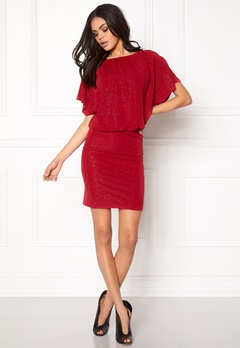 b.young Solar dress 80637 Crimson red Bubbleroom.se