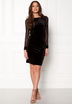 b.young Urbana Dress Black Bubbleroom.se
