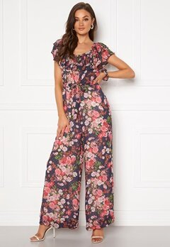 byTiMo Delicate Semi Jumpsuit Midnight Dream Bubbleroom.se