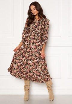 byTiMo Delicate Wrap Dress 1137- Field Bubbleroom.se