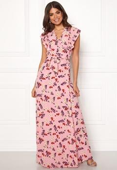 byTiMo Wrap Dress 854 Bloom Bubbleroom.se