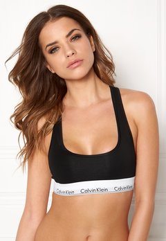 Calvin Klein CK Cotton Bralette 001 Black Bubbleroom.se