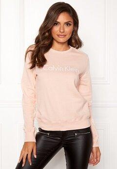 Calvin Klein CK L/S Sweatshirt Gold Blush Bubbleroom.se
