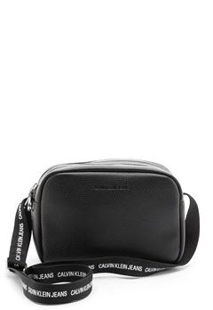 Calvin Klein Jeans Double Zip Camera Bag BDS Black Bubbleroom.se