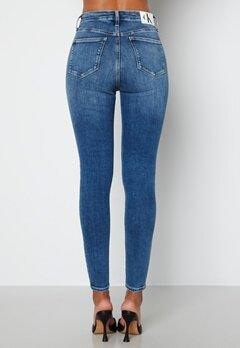 Calvin Klein Jeans High Rise Super Skinny Jeans Denim Medium bubbleroom.se