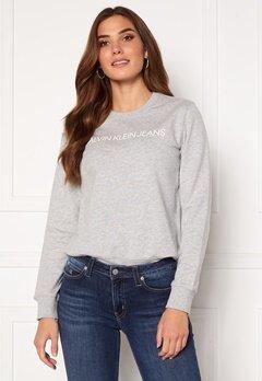 Calvin Klein Jeans Institutional Core Logo CN 038 L Grey Heather Bubbleroom.se