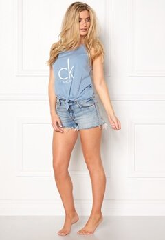 Calvin Klein Knotted Tank Faded Denim Bubbleroom.fi