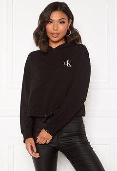 Calvin Klein L/S Hoodie 001 Black Bubbleroom.se