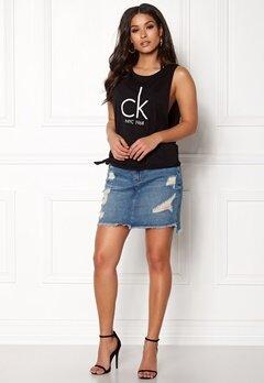Calvin Klein Side Knot Tank 001 Black Bubbleroom.se
