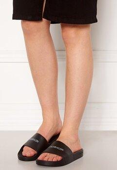 Calvin Klein Slide Sandals BEH Pvh Black Bubbleroom.se