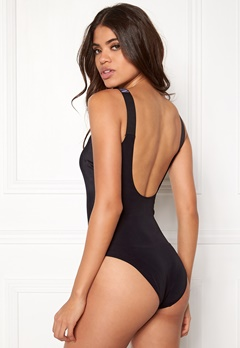 Calvin Klein Square Scoop One Piece Black Bubbleroom.fi
