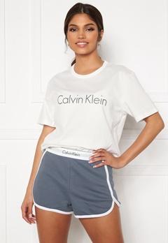 Calvin Klein S/S Short Set SWY Pewter bubbleroom.se