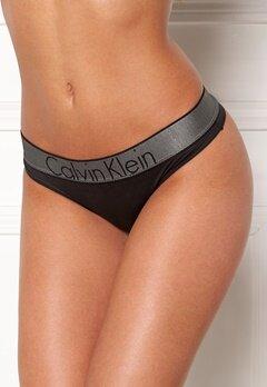 Calvin Klein Thong Black Bubbleroom.dk