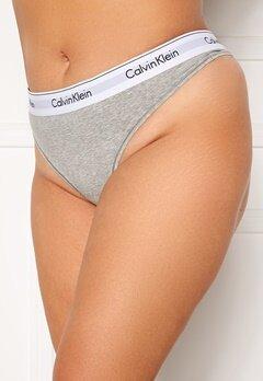 Calvin Klein Thong Plus PGK Grey Heather Bubbleroom.se
