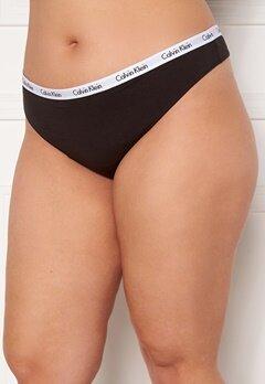 Calvin Klein Thong Plus UB1 Black Bubbleroom.se