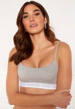Calvin Klein Unlined Bralette 020 Grey Heather Bubbleroom.se